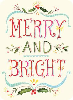 Holiday Sweet Notes - Katie Daisy Merry and Bright