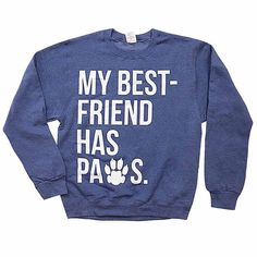 From My Love Best Friends Hearted Sweatshirt Paws Has Animal 4UXUSW8n