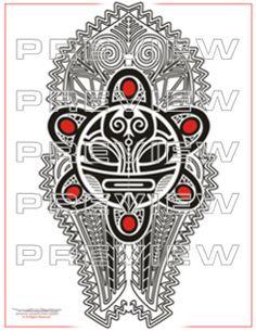 Tribal Sun Taino Tattoo ll Taino Tattoos, Sun Tattoo Tribal, Tribal Sun, Art Tribal, Tribal Sleeve Tattoos, Sun Tattoos, Body Art Tattoos, Cool Tattoos, Indian Tattoos