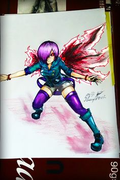 My Touka Fan Art :D by seiji0.deviantart.com on @DeviantArt