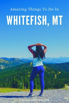 Things to Do in Whitefish, MT: A 4 Day Montana Itinerary -I got the chance to spend several days in and around Whitefish, Montana and it quickly became one of my favorite trips of the year. I'm sharing my complete itinerary of things to do in Whitefish, MT in hopes of you adding this pleasant nugget of Montana to your bucket list. #VisitMontana #USATravel #AdventureTravel
