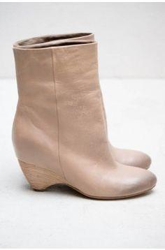 Vic Matie Dove Grey Boot from HEIST