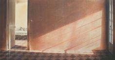 Interni - tempera, cm 120x60, 2010