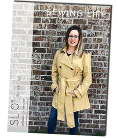 Sewing Life Magazine is a bi-monthly membership that will teach you new skills and help you improve your sewing. The Sewing Life Magazine includ. Life Magazine, Sewing, Coat, Jackets, Fashion, Moda, Needlework, Sew, Fasion
