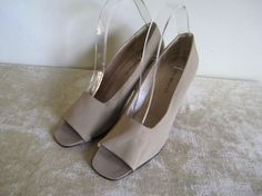 Sesto Meucci Leather Lined Leather Soles BEIGE Pumps