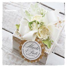 Exploding box for a Wedding - http://agnieszka-scrappassion.blogspot.ca/