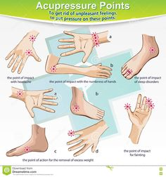 Massage Therapy Acupressure Points Stock Vector - Illustration of ache, alternative: 73579549