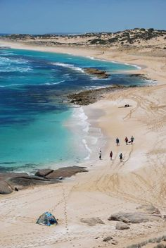 One of the most beautiful beaches in Innes National Park South Australia.