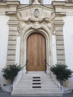 Palazzo Zuccari in Rome: The owners, a pair of Renaissance painters and brothers, Taddeo & Frederico Zuccari, were inspired by the monster park in Bomarzo, not far from Rome. This doorway is on Via Gregoriana, near the Spanish Steps, in what is now the the Biblioteca Hertziana Max Plank Institute for Art History library.