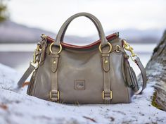 This Is the one! The Florentine Small Satchel in gray or camel color