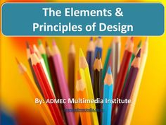 Basic Elements Of Art : Good basic elements of art and principles design powerpoint to