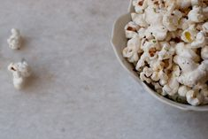 Chile Lime Tequila Popcorn!   http://www.101cookbooks.com/archives/chile-lime-tequila-popcorn-recipe.html