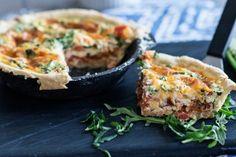 Roasted Tomato and Arugula Quiche | Tasty Kitchen: A Happy Recipe Community!