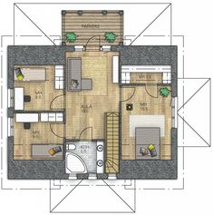 AURORA 151 - Kannustalo Aurora, Floor Plans, Diagram, How To Plan, Northern Lights, Floor Plan Drawing, House Floor Plans