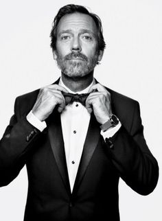 Hugh Laurie. My all time favorite. So sad that House is ending.