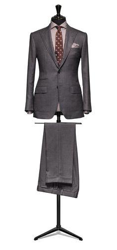 Grey suit Sharkskin wool and silk http://www.tailormadelondon.com/shop/tailored-suit-fabric-4314-sharkskin-grey/