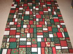 Original pattern..Seattle Streets...designed by Laurie ? Of Caritas Quilts blog