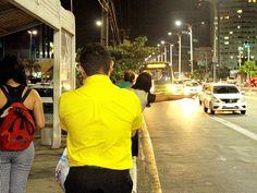 Frota reduzida e medo nas paradas de ônibus em São Luís (Foto: De Jesus/O Estado)