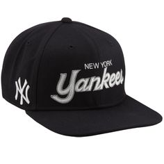 Nike New York Yankees Straight Up Snapback Hat - Navy Blue Yankees Fan 26c7c547b642