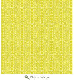 marimekko praliini yellow upholstry - love the color and pattern