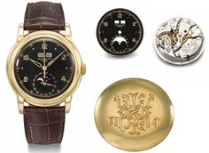 """The ownership of this watch was contested in November 2015 and as a result was withdrawn from the sale and subsequently the object of a legal title dispute. This dispute was resolved in late December 2016. The original consignor possesses all rights to offer the watch at auction this May. Christie's is looking forward to presenting this unique timepiece once again to the world of watch collectors in a month's time. """"It is withou"""
