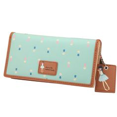 Sale 18% (8.89$) - Women Fashion Long Purse Lovely Wallet Painted Bags