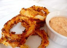OVEN-FRIED ONION RINGS – Easy Low Calorie Recipes   Top recipes magazine