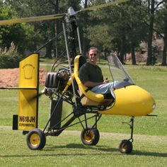 fly a gyrocopter