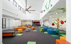 Colorful and unique furniture