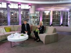 "Me and my son Wili (4,5 month old) in morning show ""Pytanie na Śniadanie"", Polish Television TVP2."