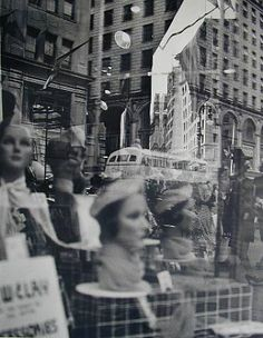 NYC Fifth Avenue by Lisette Model http://www.artnet.com/artwork/425511825/424187413/lisette-model-reflections-nyc-fifth-avenue.html