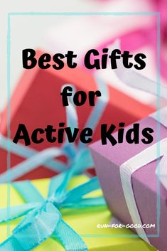 If you're shopping for a kid who loves to run, jump, and play, browse this list of the best gifts for active kids to get ideas for things that will keep them moving. Physical Activities For Kids, Fitness Activities, Games For Kids, Running Gifts, Kids Running, Running Gear, Amazon Girl, Gifts For Runners, Fabric Gifts