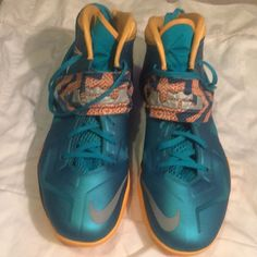 newest 76058 13bb0 Nike Shoes   Nike Zoom Lebron James Soldier Vii Turbo Green 13   Color   Green