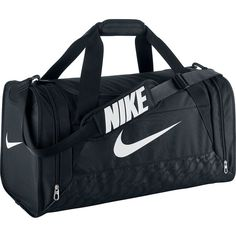 Nike Brasilia 6 Medium Duffel ($36) ❤ liked on Polyvore featuring bags and luggage