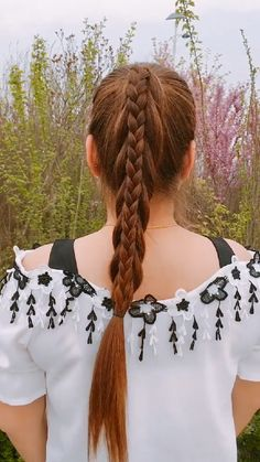 Clip Hairstyles, Easy Hairstyles For Long Hair, Braids For Long Hair, Front Hair Styles, Medium Hair Styles, Hair Style Vedio, Hair Tutorials For Medium Hair, Toddler Hair, Hair Videos