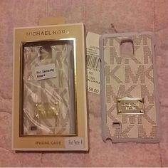 MK Samsung Note 4 case (1 beige) Brandnew MK case For samsung Note 4 only  Price firm Michael Kors Accessories Phone Cases