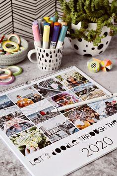 DIY | Kalender-Gestaltung mit Fotos & Zeichen-Apps - let's doodle through the year | kreative Fotobearbeitung mit dem Zeichenprogrammen | enthält Werbung | luziapimpinella.com Diy Kalender, Playing Cards, Let It Be, Pictures, Photo Calendar, Photo Manipulation, Doodles, Gift Cards
