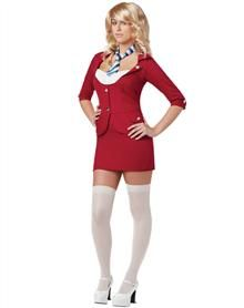 Anchorman Sassy Ron Burgundy Adult Womens Costume