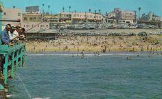 1950's postcard of RB pier.