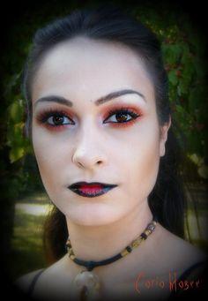 2014 Halloween Blood moon collection eyeshadow - makeup, face paint  #Halloween #eyeshadow #makeup