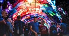 OLED tunnel features spectacular views of space, Northern Lights | Advids…