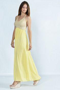 Maxi dress www.exxesfashion.com