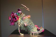 Beautiful Shoes in Printemps Department store windows, Paris