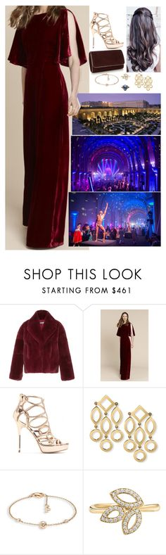 """Hosting an Autumn party for close friends at the Versailles Orangerie"" by charlottebernadotte ❤ liked on Polyvore featuring Cacharel, Jimmy Choo, Piaget and Harry Winston"