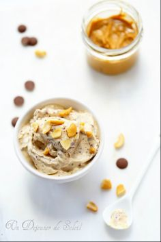 Peanut butter and chocolate ice cream