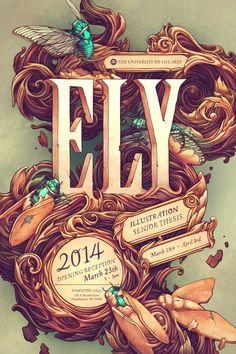beautifultype: Ely Senior Thesis Poster:..., via SerialThriller™