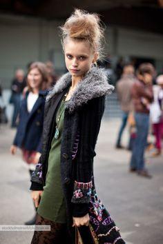 Abbey Lee Kershaw #streetstyle #fashion #modeloffduty