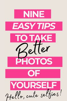 How to take photos of yourself with your iphone or camera. Tricks to  take great selfies and photos of yourself for instagram #photography  #takephotosofyourself