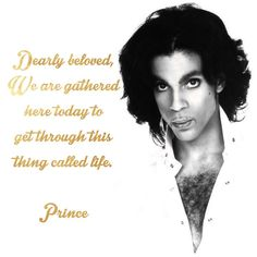 And no one did it quite like you. Rest in peace, Legend. Our hearts are broken.  #Prince #Legend #RIP #RestInPeace #Heartbroken