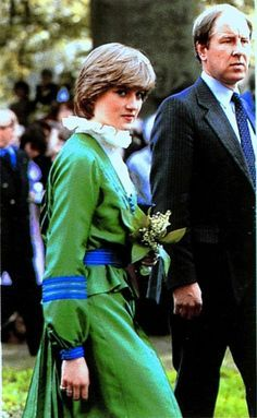 May 9, 1981: Lady Diana and Prince Charles open a special exhibition at Broadlands, the home of the late Lord Mountbatten.